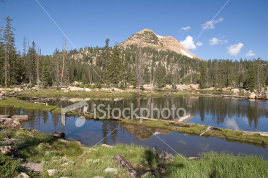 ist2_2107397-lake-reflection-in-the-high-uintah-mountains